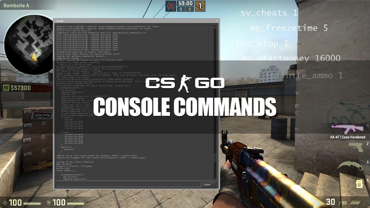 Как сделать консоль в cs.go