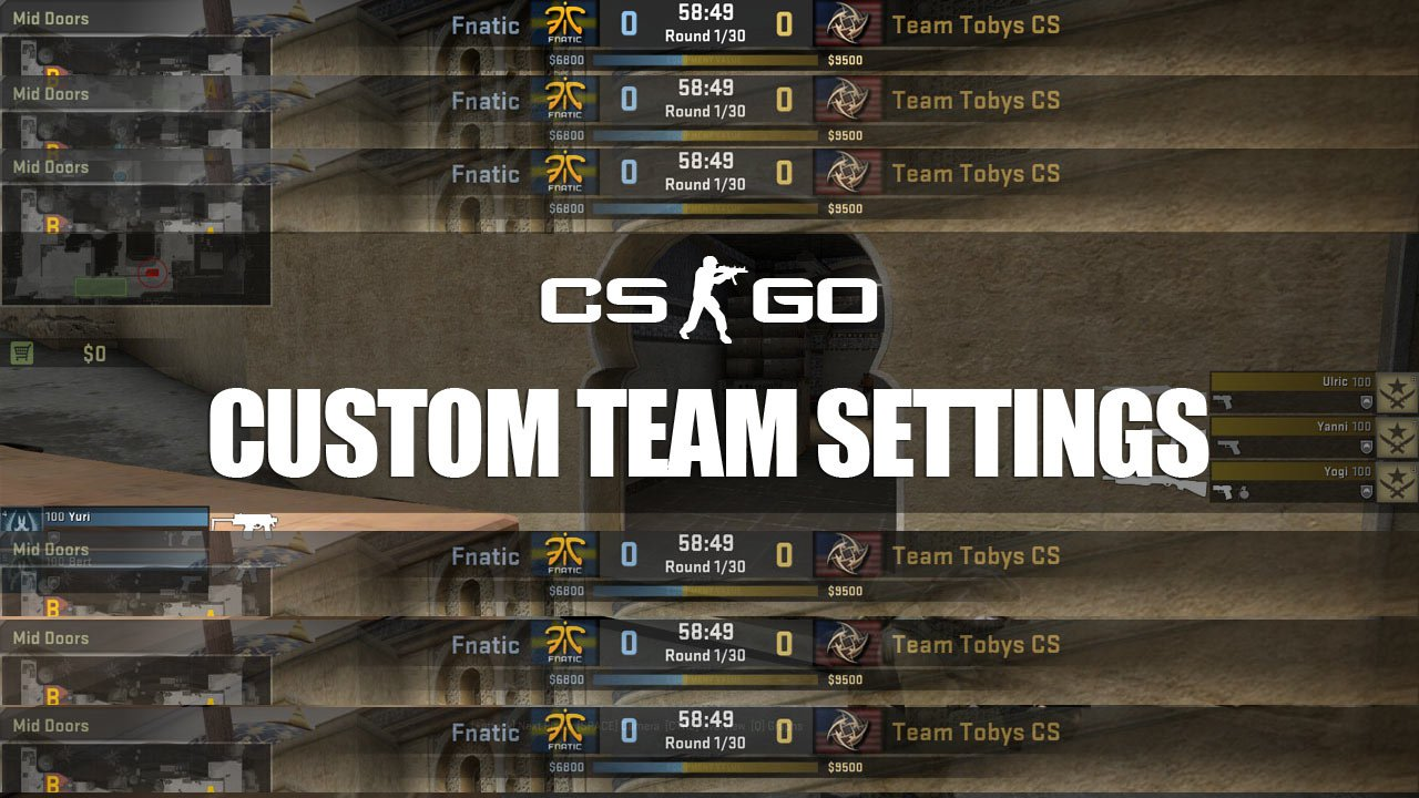 How To Setup Team Logos Names Flags Stats In CSGO - Minecraft namen andern tutorial