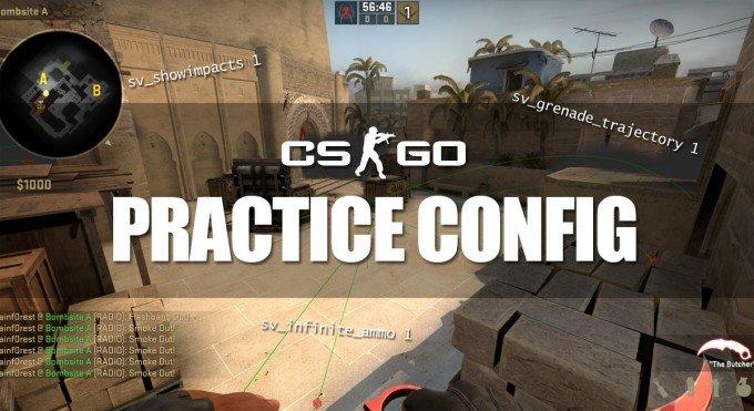 CS:GO Grenade Practice Config 2019 - Useful Console Commands