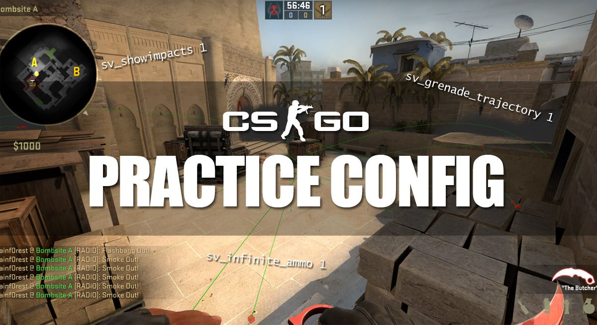 CS:GO Practice Config - Cfg, Bots, Show Trajectory & Impacts
