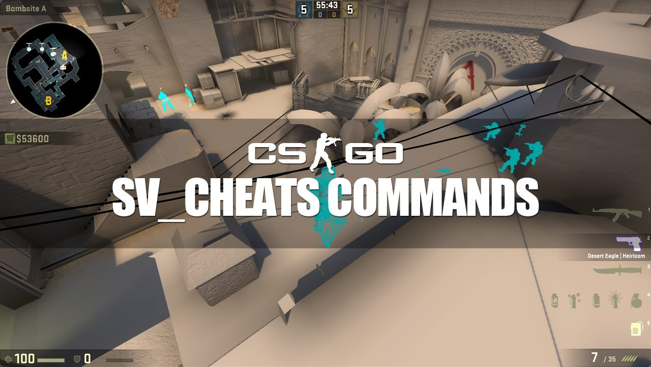 Most useful SV_CHEATS 1 Commands - CS:GO Guide 2019
