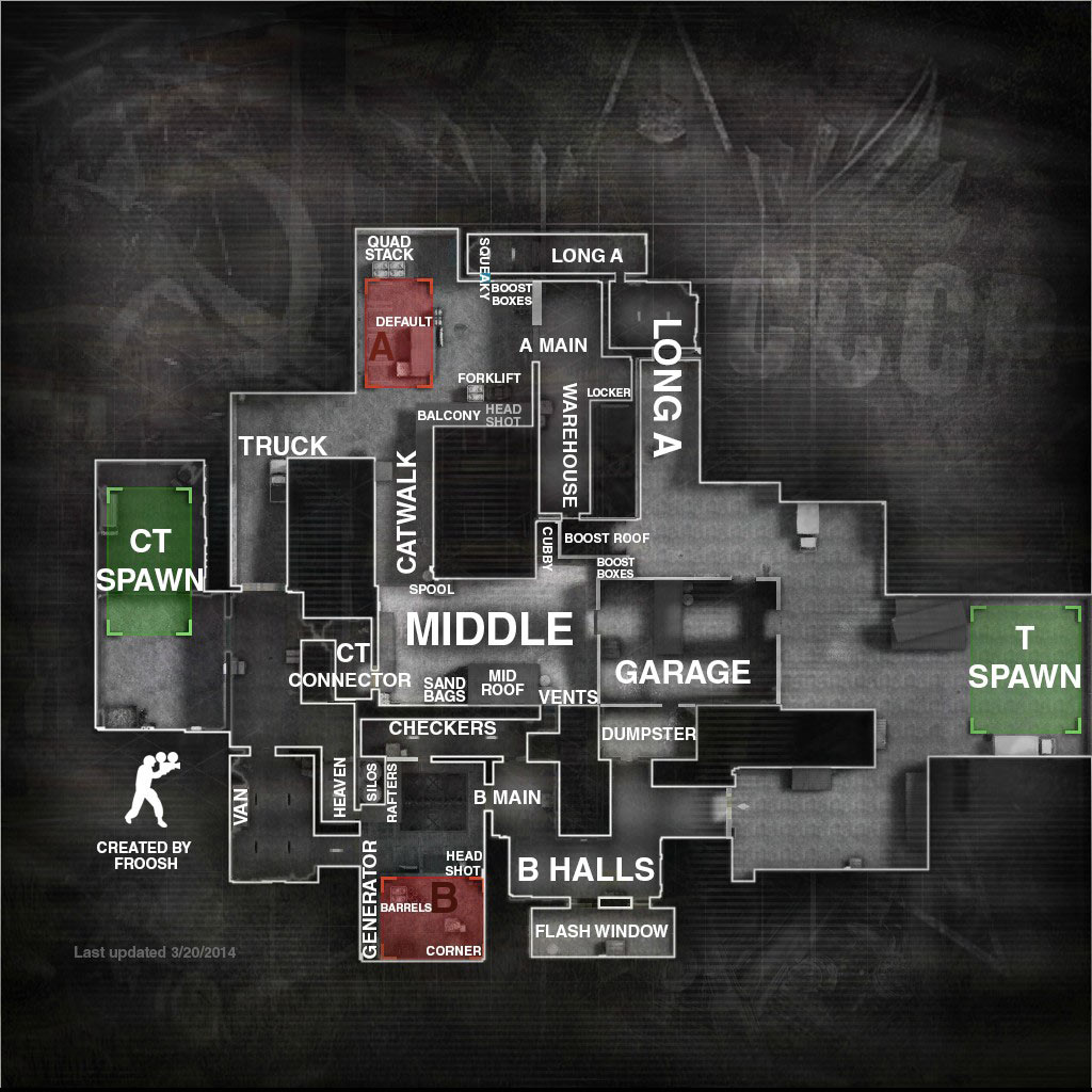 cs go maps competitive