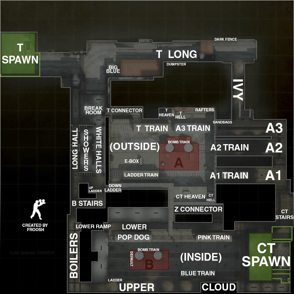 cs go map callouts overviews for petitive maps