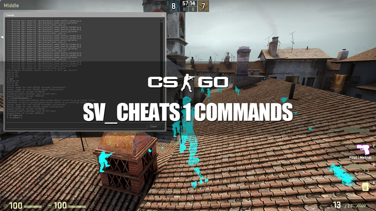 how to use console cs go