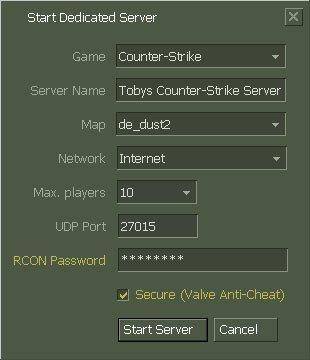 CS 1.6 Dedicated Server