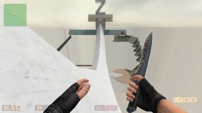 How to surf in Counter-Strike Source