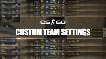 Custom Team Logos, Names and Flags in CS:GO