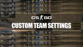 Custom Team Logos, Names and Flags in CS:GO