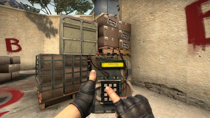 CSGO how to rename bomb