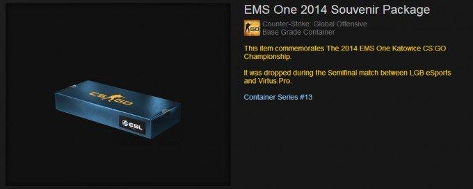 CS:GO Souvenir Package