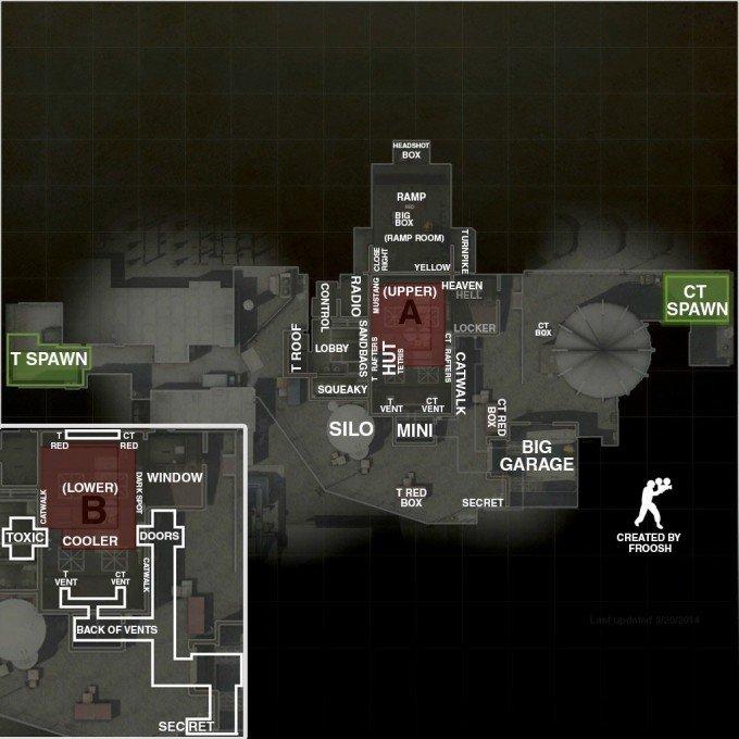 de_nuke map callout overview