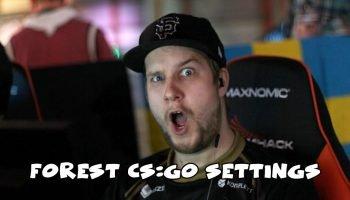 f0rest CS:GO Settings
