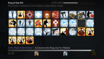 CS:GO - King of the Kill achievement guide