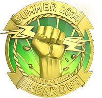 Gold Operation Breakout Coin