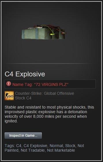 renamed c4 in steam