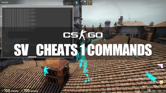 All sv_cheats 1 console commands for CS:GO