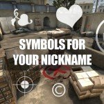 Smileys, Symbols & Special Characters For Steam Name