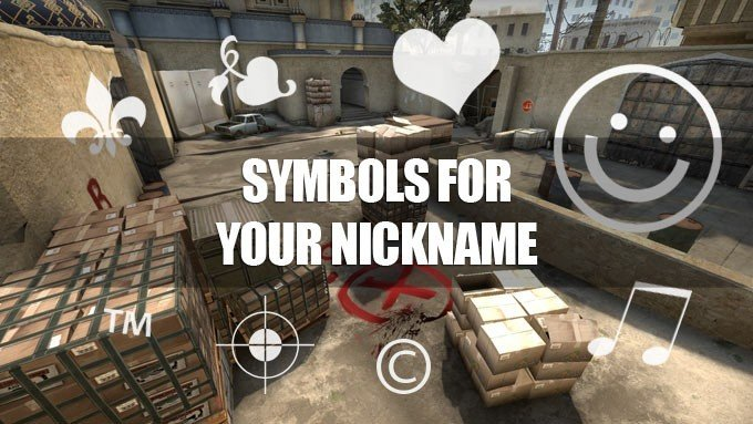 Symbols for your nickname